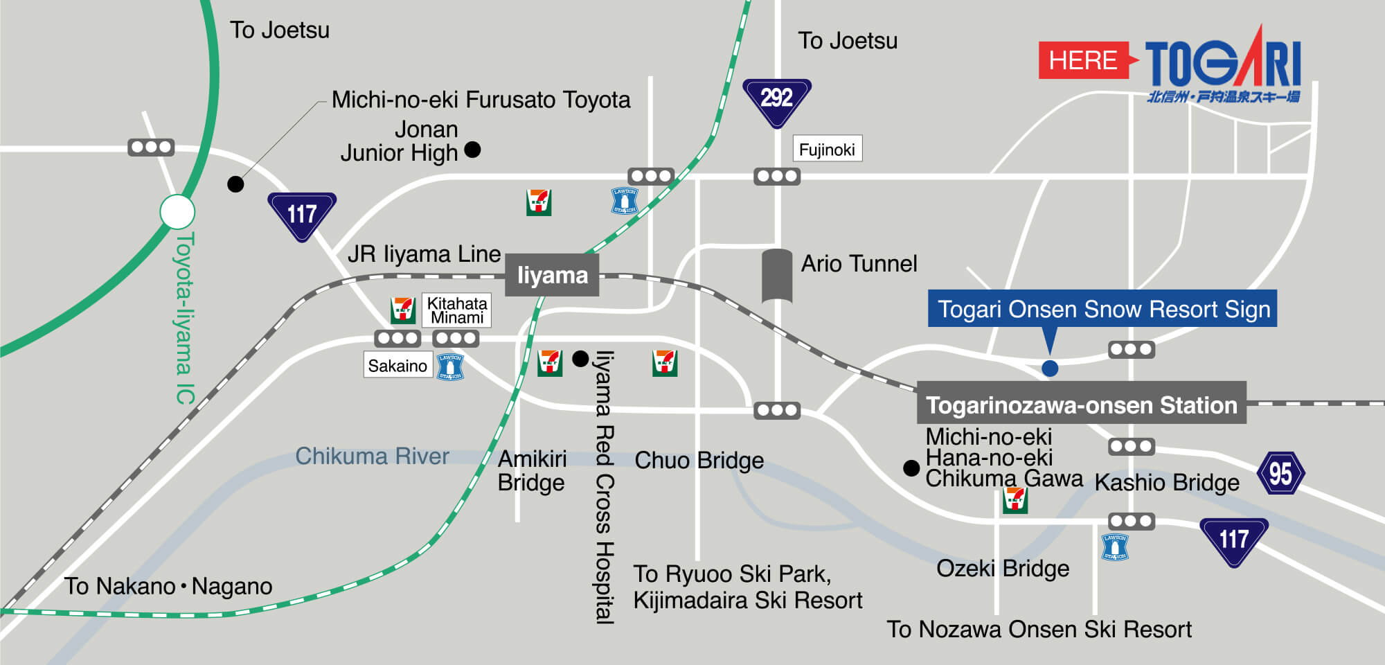 Togari Onsen Snow Resort and Japan access